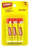 Carmex Pack of 2, Lip Balm, Moisturizing, Original, 3 Count