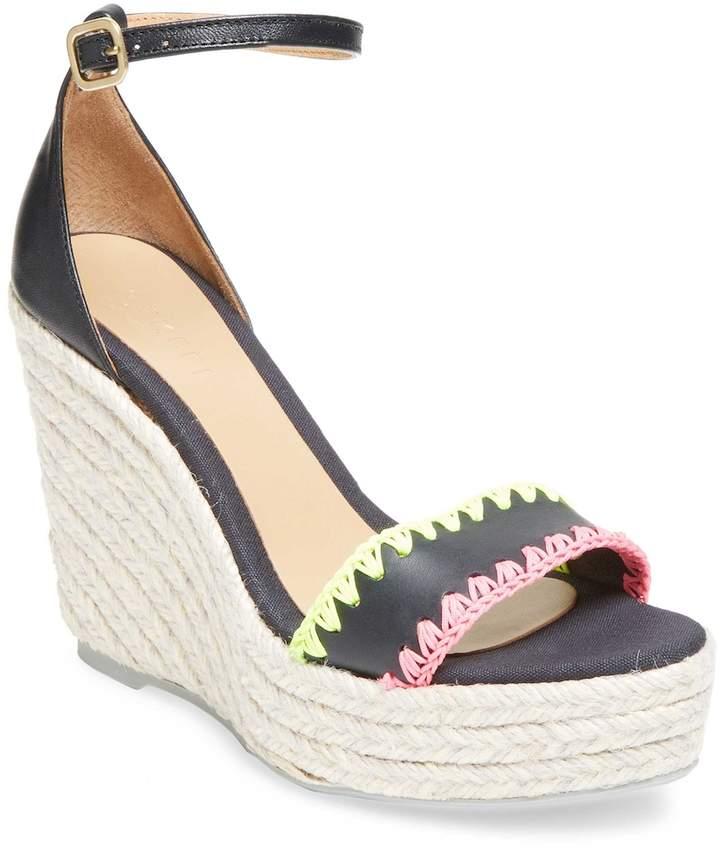Manebi Women's Detailed Wedge Sandal