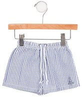 Jacadi Boys' Striped Drawstring Swim Trunks