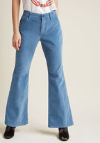 Wrangler Flawlessly Flared Corduroy Pants - 30 in 12 - Flare Pant by from ModCloth