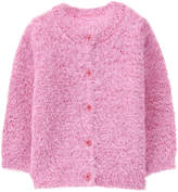 Gymboree Light Pink Fuzzy Cardigan - Infant & Toddler