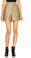 Isabel Marant Satia Cotton Costard Shorts