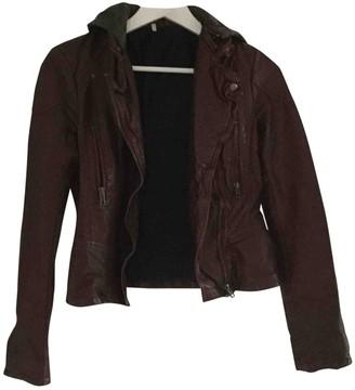 Free People Burgundy Jacket for Women