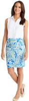 J.Mclaughlin Halle Reversible Skirt in Springs Gingham