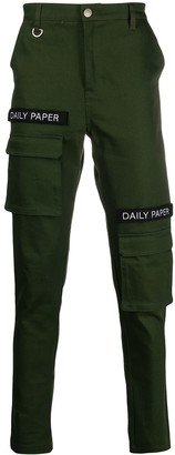 Daily Paper Logo-Patch Cargo Pants