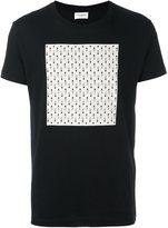 Saint Laurent square print T-shirt