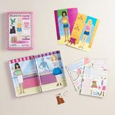 World Market Shop Till You Drop Magnetic Paper Dolls Travel Tin