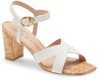Stuart Weitzman Analeigh Ankle Strap Sandal