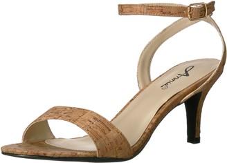 Annie Shoes Women's Lutrec W Dress Sandal