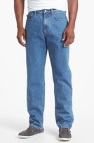 Cutter & Buck Five-Pocket Relaxed Fit Jeans (Big & Tall)