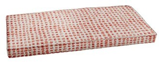"""Rosecliff Heights Corded Indoor/Outdoor Bench Cushion Size: 2"""" H x 55"""" W x 19"""" D"""