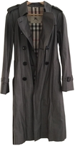Burberry Anthracite Cotton Trench coat