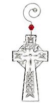 Waterford Crystal Annual Ornaments Mini Cross