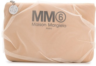 MM6 MAISON MARGIELA Tulle Clutch Bag