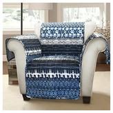 Nobrand No Brand Lambert Tie Dye Furniture Protectors Navy Armchair