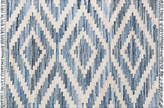 "One Kings Lane Selby Flat-weave Rug - Blue - 3'3""x5'3"""