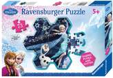 Ravensburger Disney's Frozen 73-Piece Snowflake Puzzle by