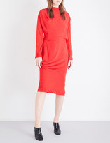 Anglomania New Fond draped woven dress