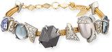 Alexis Bittar Crystal-Encrusted Soft Station Bracelet