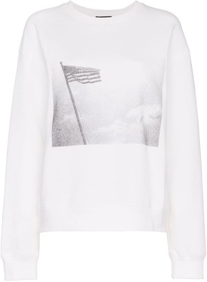 Calvin Klein x Andy Warhol Foundation American Flag Terry Sweatshirt