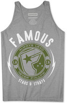 Famous Stars & Straps Men's Graphic Print Cotton Tank
