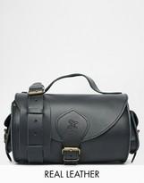 Grafea Leather Crossbody Bag in Black