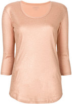 Majestic Filatures v-neck blouse