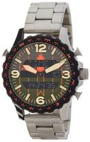 Fossil Men&s Silver Metallic Bracelet Watch