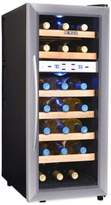 Bed Bath & Beyond NewAir 21-Bottle Dual-Zone Thermoelectric Wine Cooler in Stainless Steel
