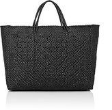 Truss Women's Woven Large Tote Bag-Black