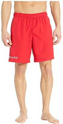 Speedo 19 Guard Volley Shorts Red) Men's Swimwear