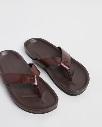 Double Oak Mills Bora Bora Leather Thongs