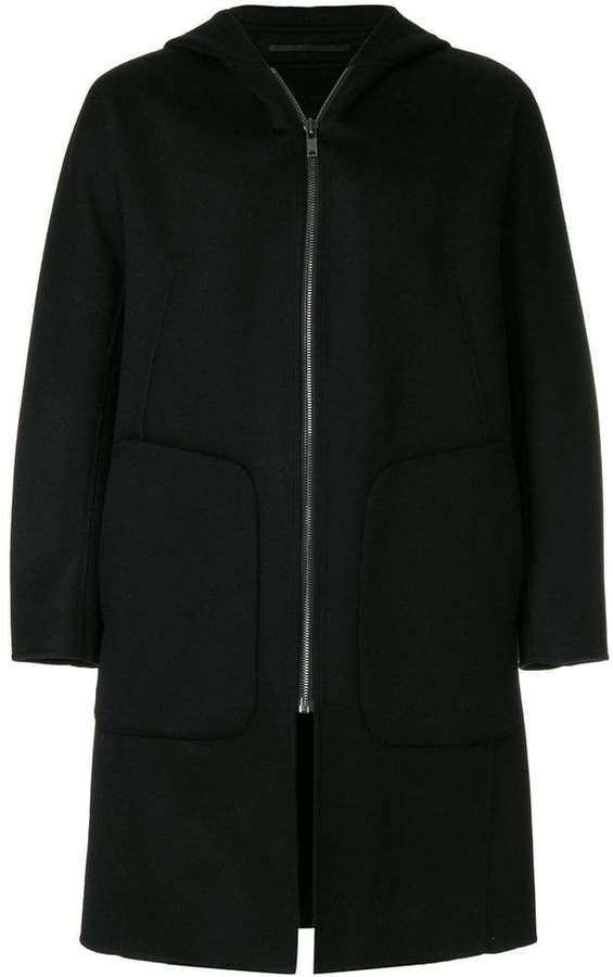 Theory double-faced duffle coat