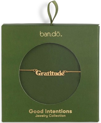 ban.do Good Intentions Necklace, Gratitude