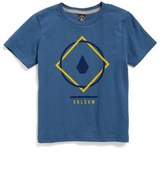 Volcom Chow Logo T-Shirt (Toddler Boys & Little Boys)