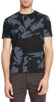 Kenneth Cole New York Camo-Printed Crewneck T-Shirt