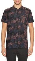 Tavik Harmon Floral Printed Sportshirt