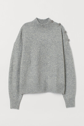 H&M Sweater with Rhinestones