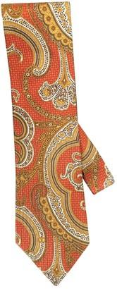 Valentino Garavani Orange Silk Ties