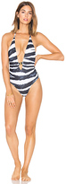 L'Agent by Agent Provocateur Tayler One Piece in Black & White. - size S (also in )