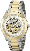 Rotary Men's gb90515/10 Analog Display Swiss Automatic Two Tone Watch