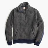 J.Crew Grizzly fleece half-zip pullover