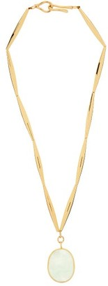 Tohum Theia Resort Crystal & 24kt Gold-plated Necklace - Gold
