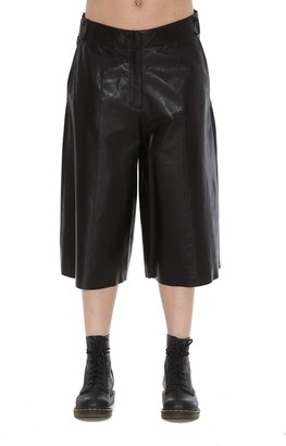 Arma Leather Shorts