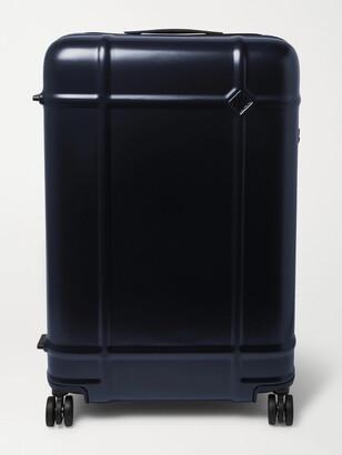FPM Milano Globe Spinner 76cm Polycarbonate Suitcase - Men - Blue
