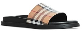 Burberry Women's Ashmore Vintage Check Pool Slides