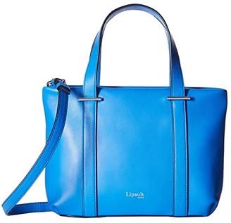 Lipault Paris By The Seine Nano Tote Bag (Cobalt Blue) Tote Handbags