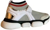 Moncler Silver Rubber Trainers
