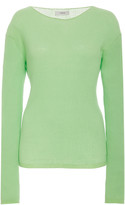 Vince Ribbed-Knit Cotton Top