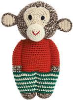 Anne Claire Crochet Midi Chimp - Mandarin